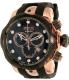 Invicta Men's 0361 Black Rubber Swiss Chronograph Watch - Main Image Swatch