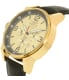 Invicta Men's 20137SYB Black Leather Swiss Chronograph Watch - Side Image Swatch
