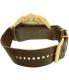 Invicta Men's 20059SYB Brown Leather Quartz Watch - Back Image Swatch