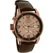Invicta Men's 20139SYB Brown Leather Swiss Chronograph Watch