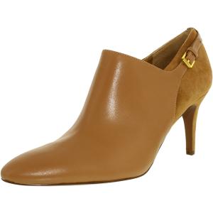 Lauren Ralph Lauren Women's Pabla-Bo-Drs Leather Suede Ankle-High Leather Pump