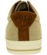 Polo Ralph Lauren Men's Vaughn Linen/Suede Ankle-High Suede Flat Shoe - Back Image Swatch