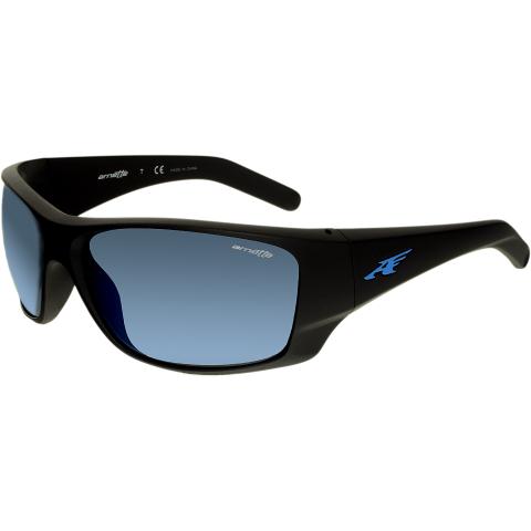 Arnette Men's Mirrored Heist 2.0 AN4215-01/55-66 Black Rectangle Sunglasses