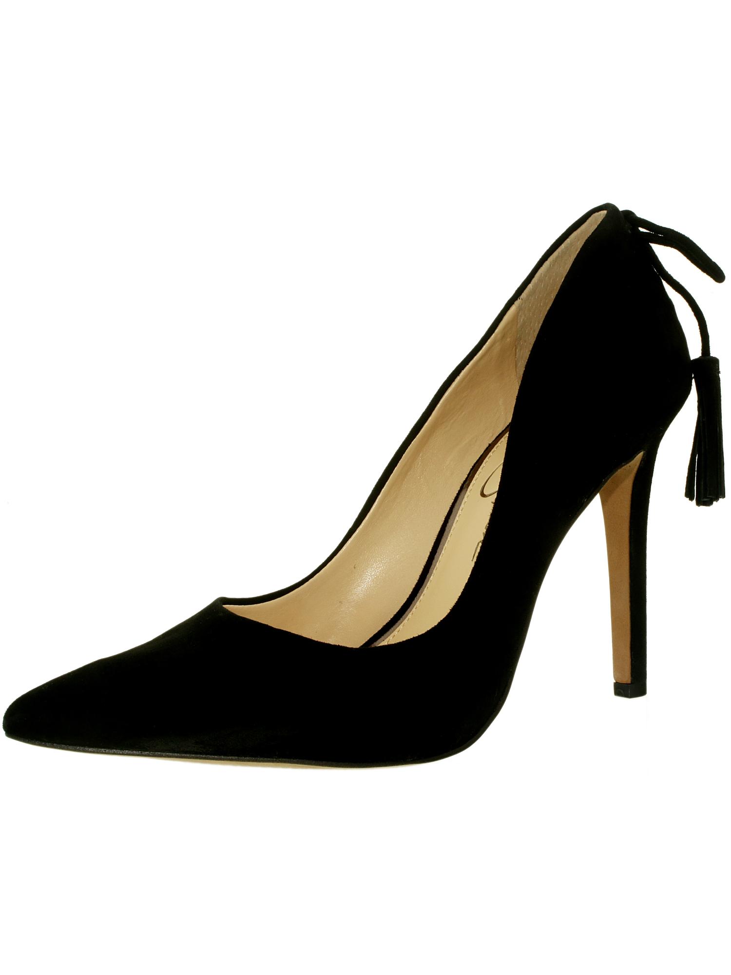 Jessica-Simpson-Women-039-s-Centella-Suede-Ankle-High-Pump