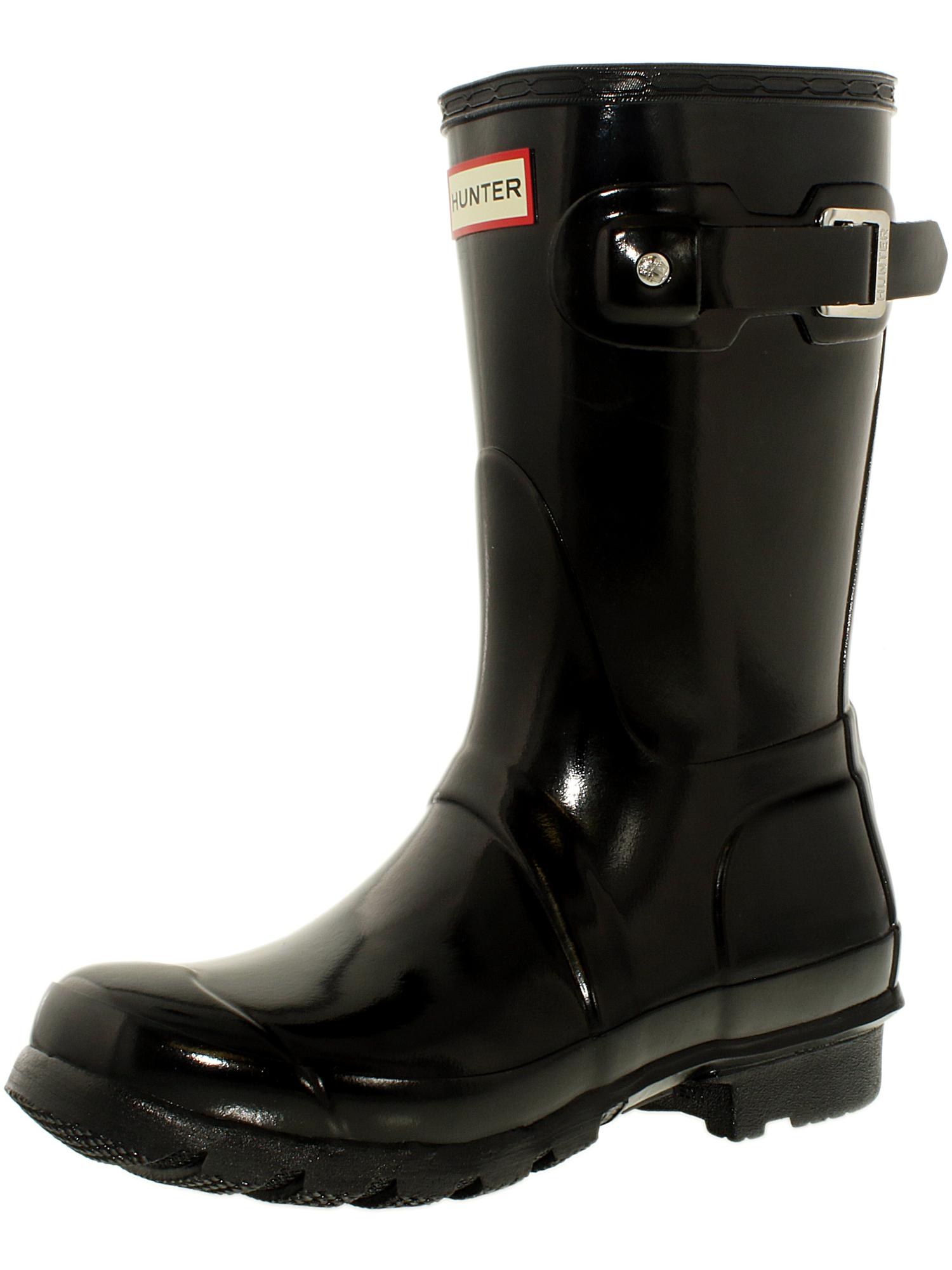 49a331cb3 ... Picture 3 of 3. Hunter Women's Original Short Mid-Calf Rubber Rain Boot