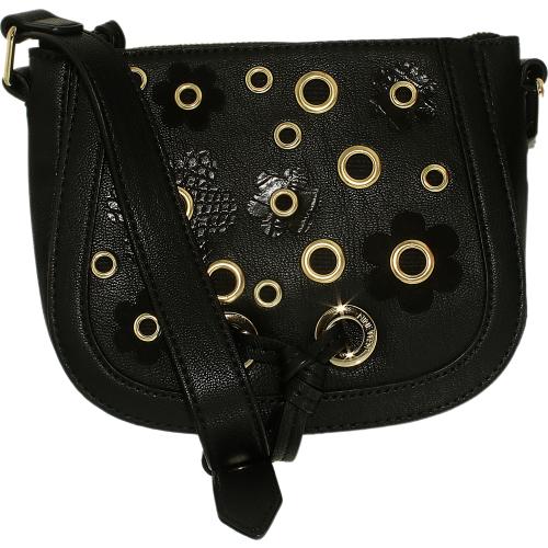 mini evelina leather crossbody satchel