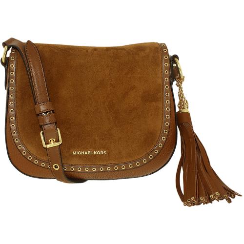 Michael Kors Women's Leather Cross-Body - Luggage