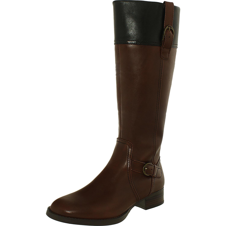 ariat s york w leather knee high boot ebay