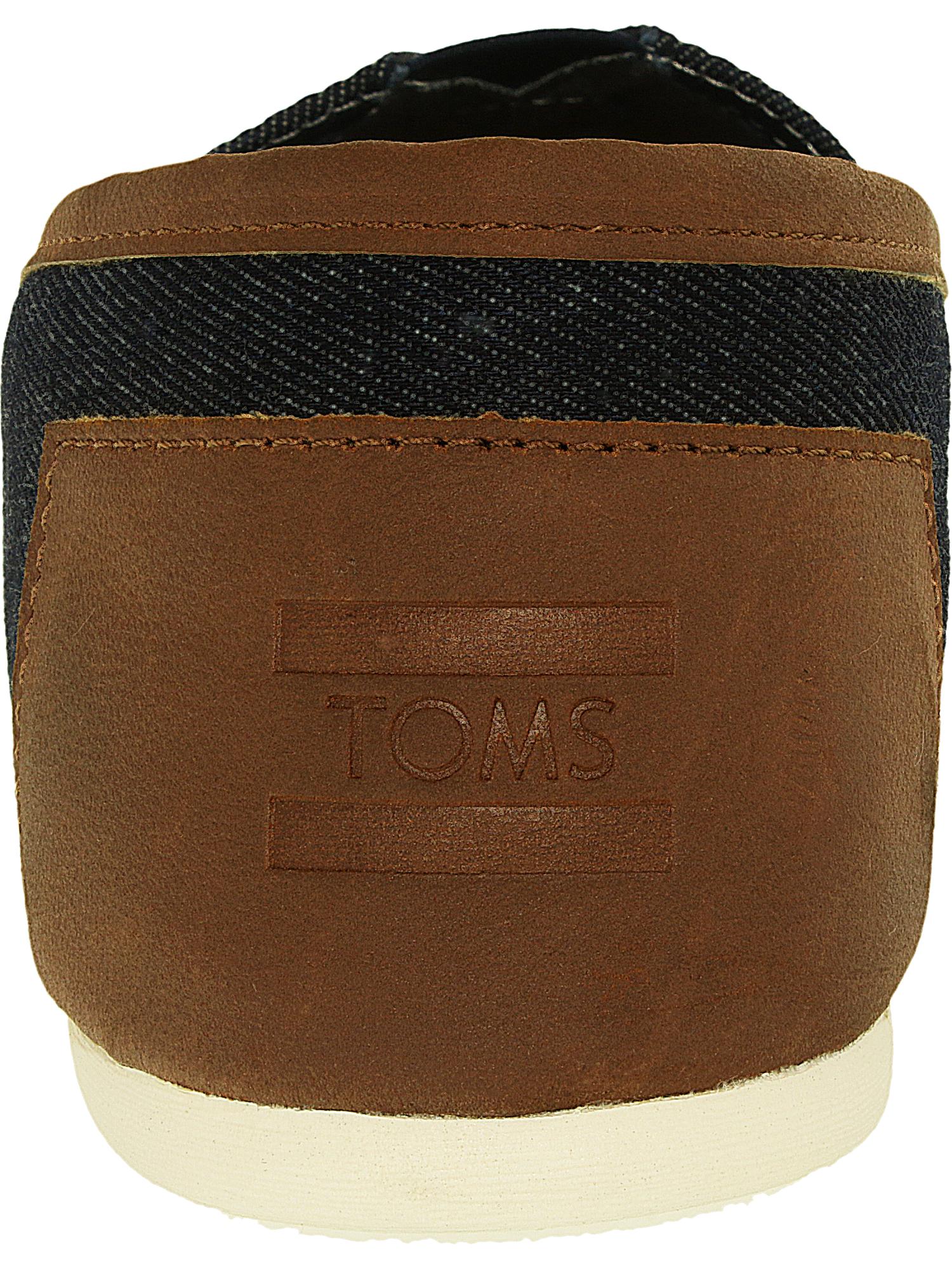 Toms-Men-039-s-Classic-Denim-Ankle-High-Canvas-Slip-On-Shoes thumbnail 6