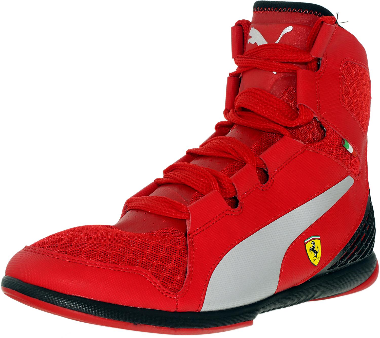 Black Mid Top Shoes