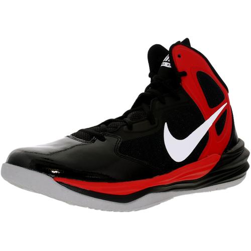 UPC 884776372277 product image for Nike Men's Prime Hype Df  Black/White/University Red ...