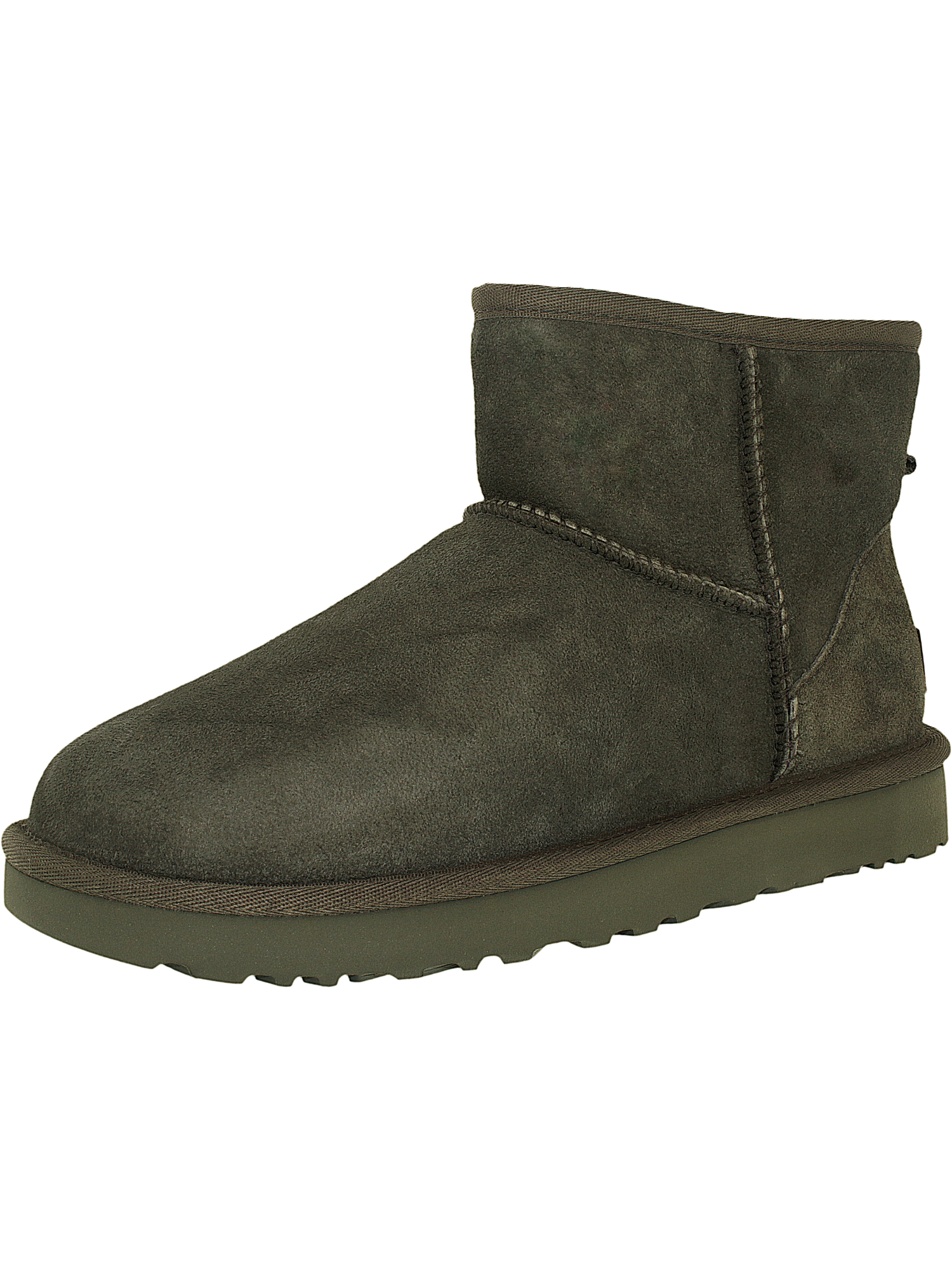 Ugg-Women-039-s-Classic-Mini-II-Leather-Ankle-High-Suede-Boot