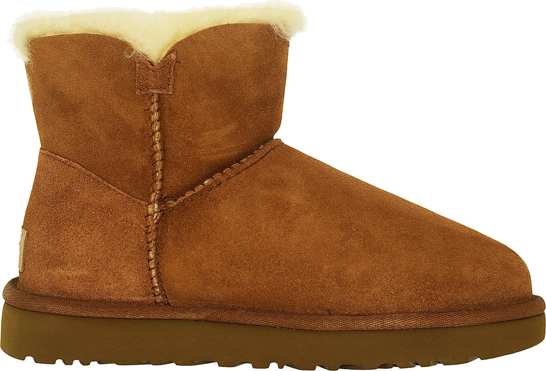 Ugg-Women-039-s-Mini-Bailey-Button-II-High-Top-Sheepskin-Boot thumbnail 8