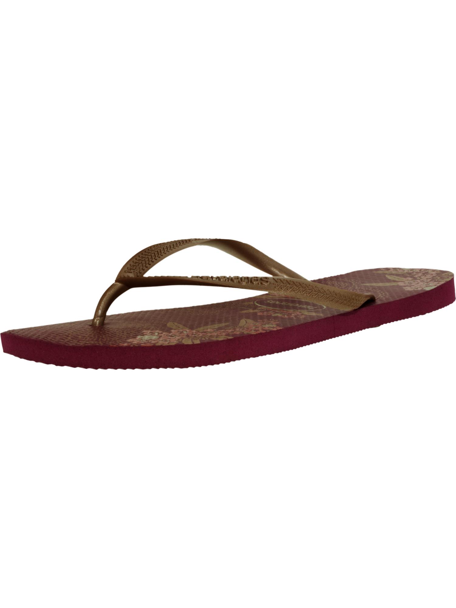 Havaianas Women's H. Slim Organic CF Acai Rubber Sandal - 12M HxnISl