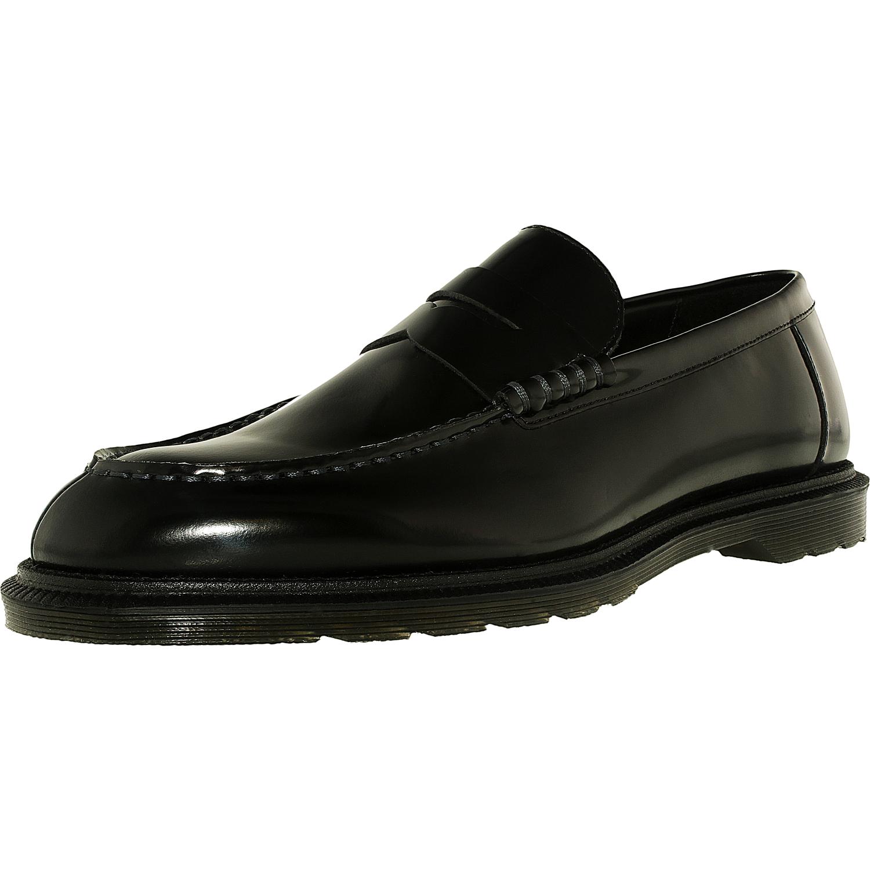 Hommes Penton Polished Smooth Loafers, Black Dr. Hommes Penton Poli Mocassins Lisses, Dr Noir. Martens Martens
