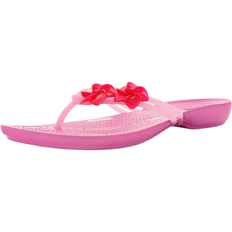 Crocs-Women-039-s-Isabella-Embellished-Flip-Sandal