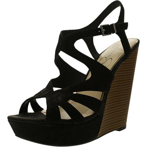 Jessica Simpson Women's Brissah Leather Ankle-High Pump