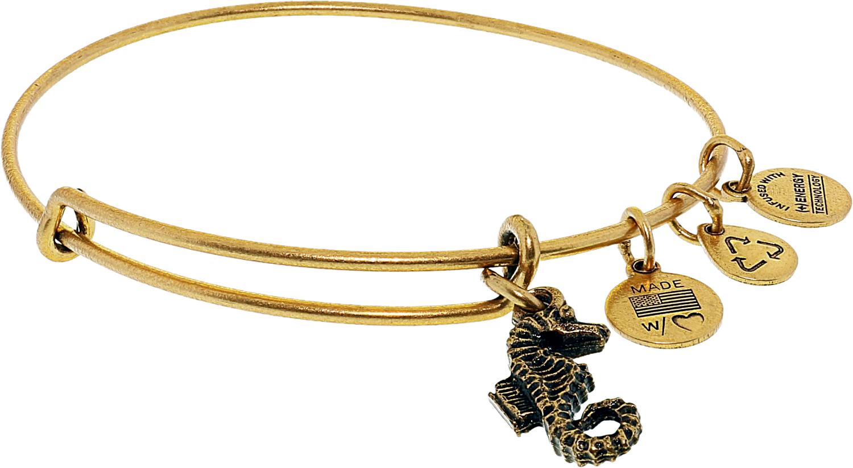 Alex And Ani Women S Seahorse Bangle Bracelet Ebay
