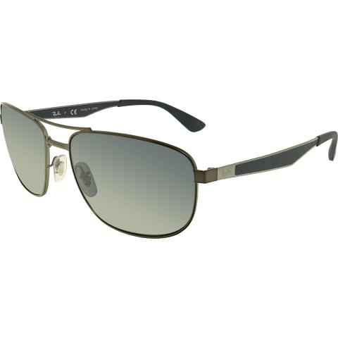 Ray-Ban Men's RB3528-029/87-61 Blue Aviator Sunglasses