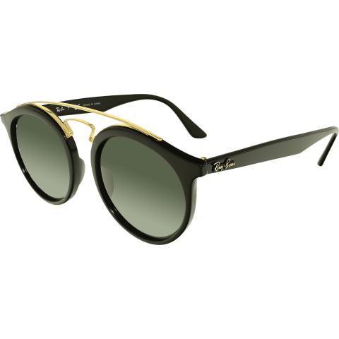 Ray-Ban Gatsby RB4256-601/71-49 Black Round Sunglasses