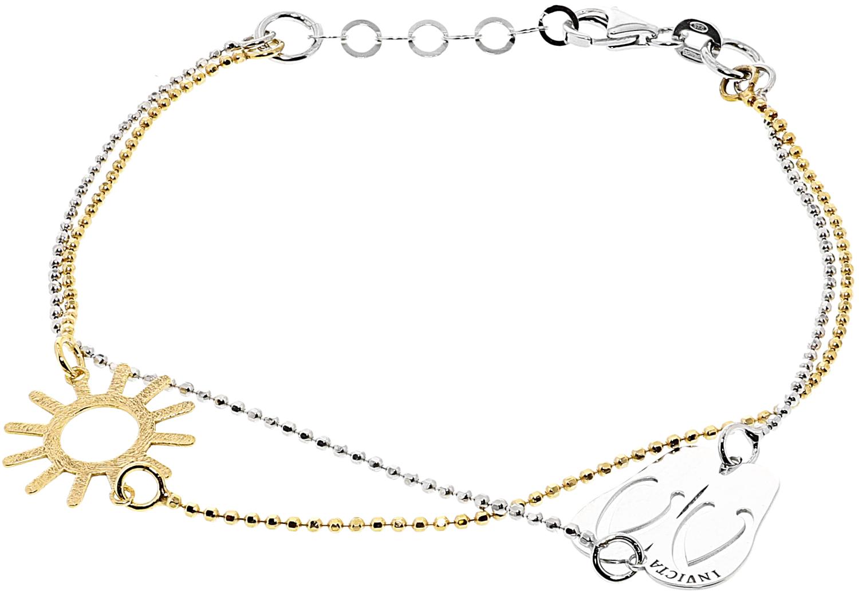 "Invicta_Women's_Sandals_And_Sunshine_Bracelets_Chain_Bracelet_-_8"""