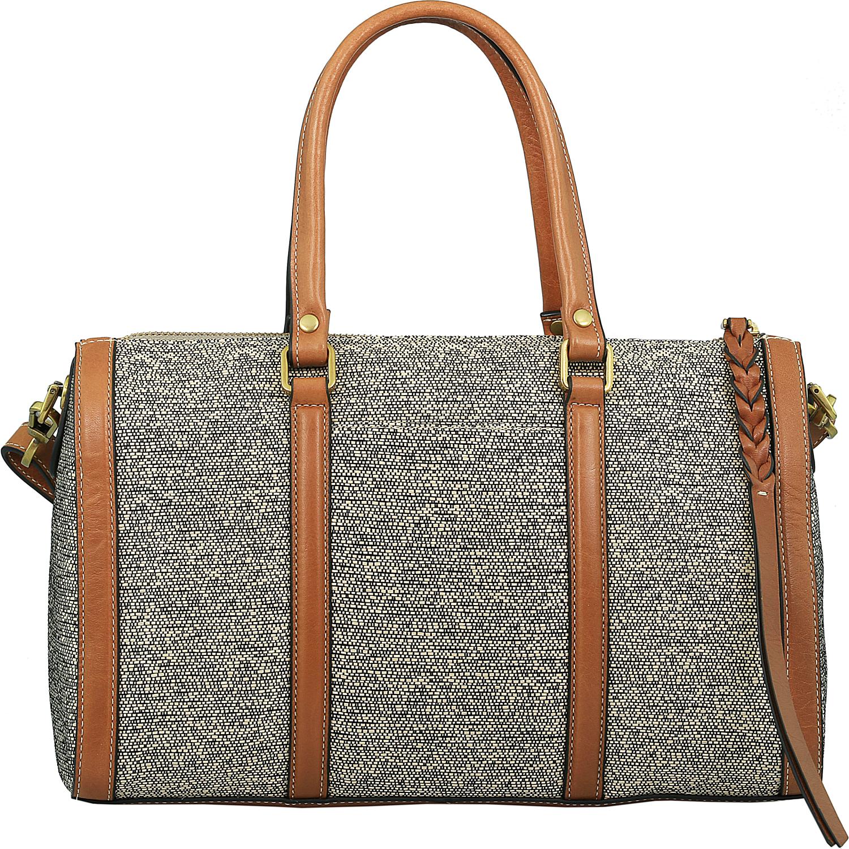 Fossil Women's Kendall Fabric Top-Handle Bag Satchel | eBay