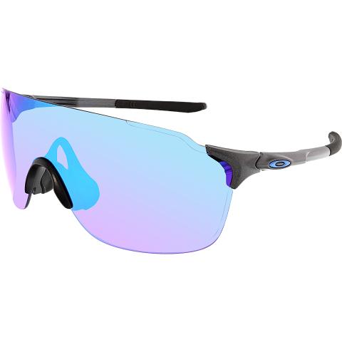 Oakley Men's Gradient Evzero OO9386-02 Black Shield Sunglasses