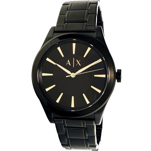 Armani Exchange Men's AX7102 Black Stainless-Steel Quartz Dress Watch