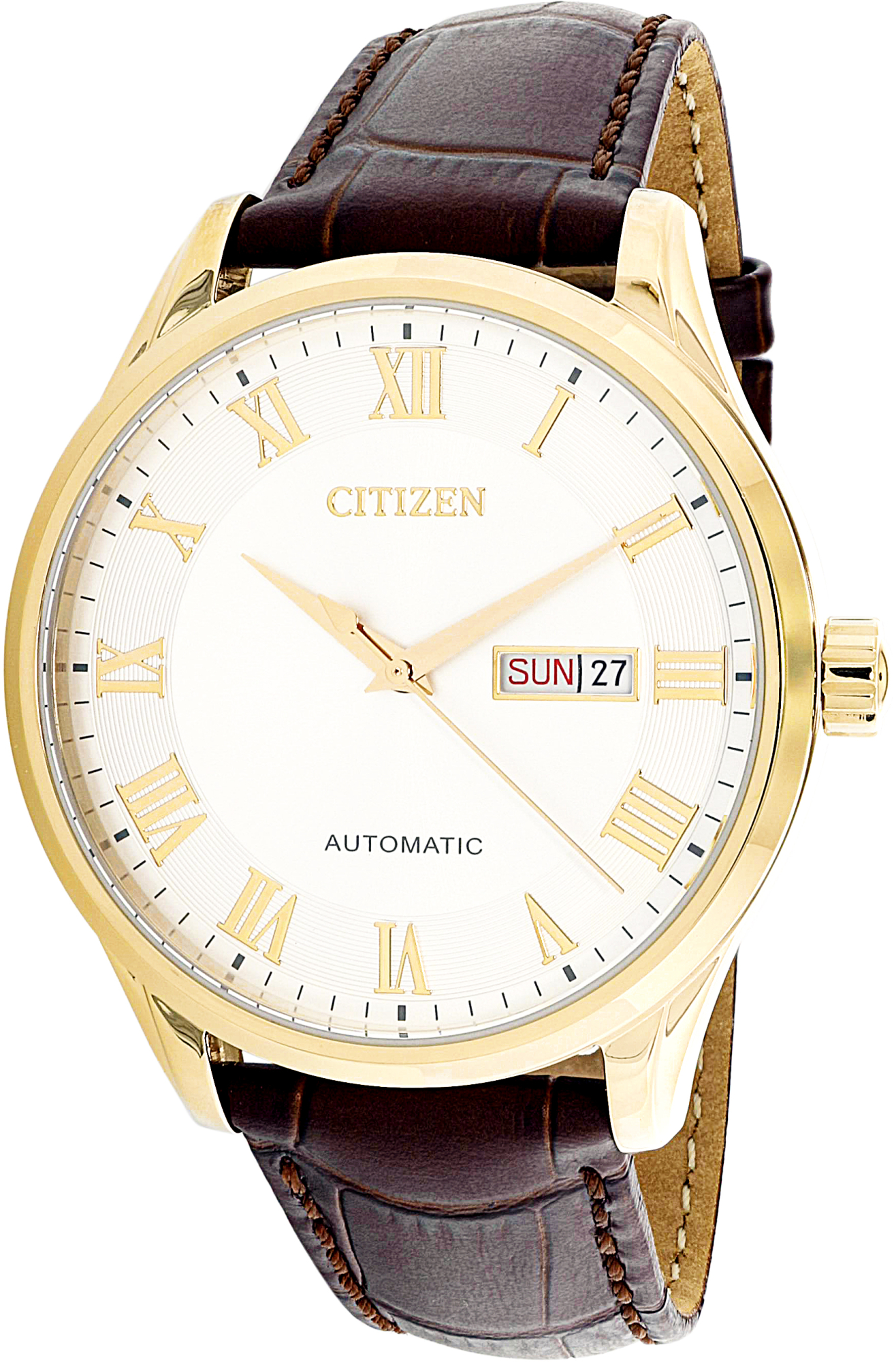 Citizen_Men's_Automatic_NH8363-14A_Gold_Leather_Japanese_Dress_Watch