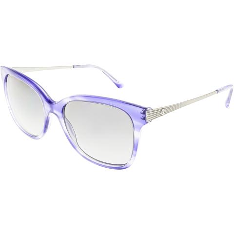 Giorgio Armani Women's Polarized AR8074-548711-54 Blue Square Sunglasses
