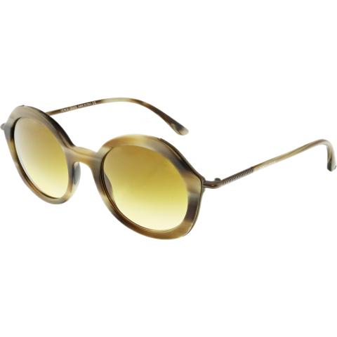 Giorgio Armani Women's Gradient AR8075-54942L-48 Brown Round Sunglasses