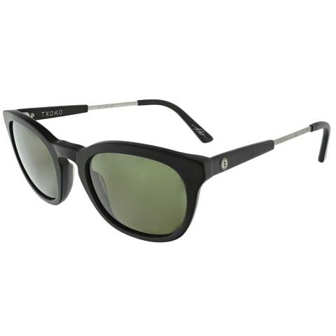 Electric Women's Txoko EE13401003 Matte Black Rectangle Sunglasses