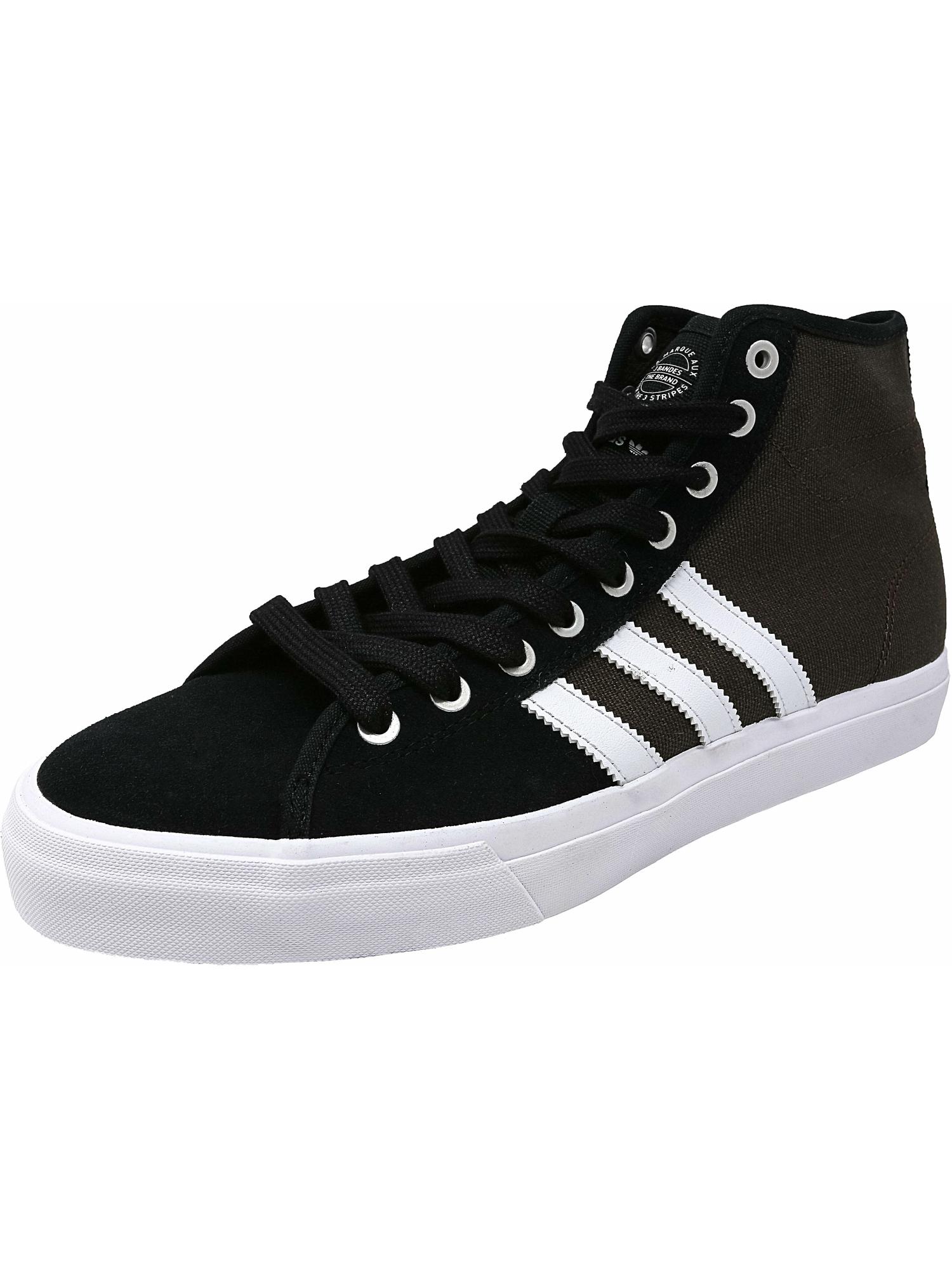 Adidas hommes Matchcourt High Rx Ankle-High Fabric Fabric Fabric Fashion Sneaker b81386
