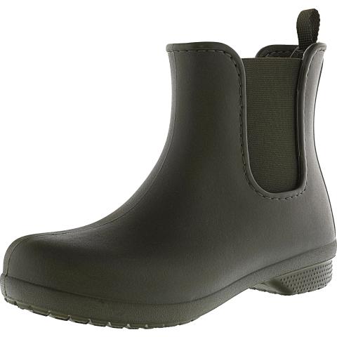 Crocs Women's Freesail Chelsea High-Top Rubber Rain Boot