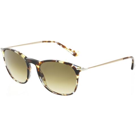 Persol Gradient PO3124S-105851-50 Brown Oval Sunglasses
