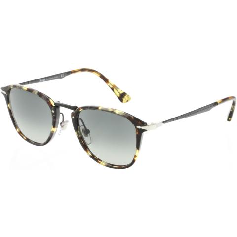 Persol PO3165S-105771-50 Brown Oval Sunglasses