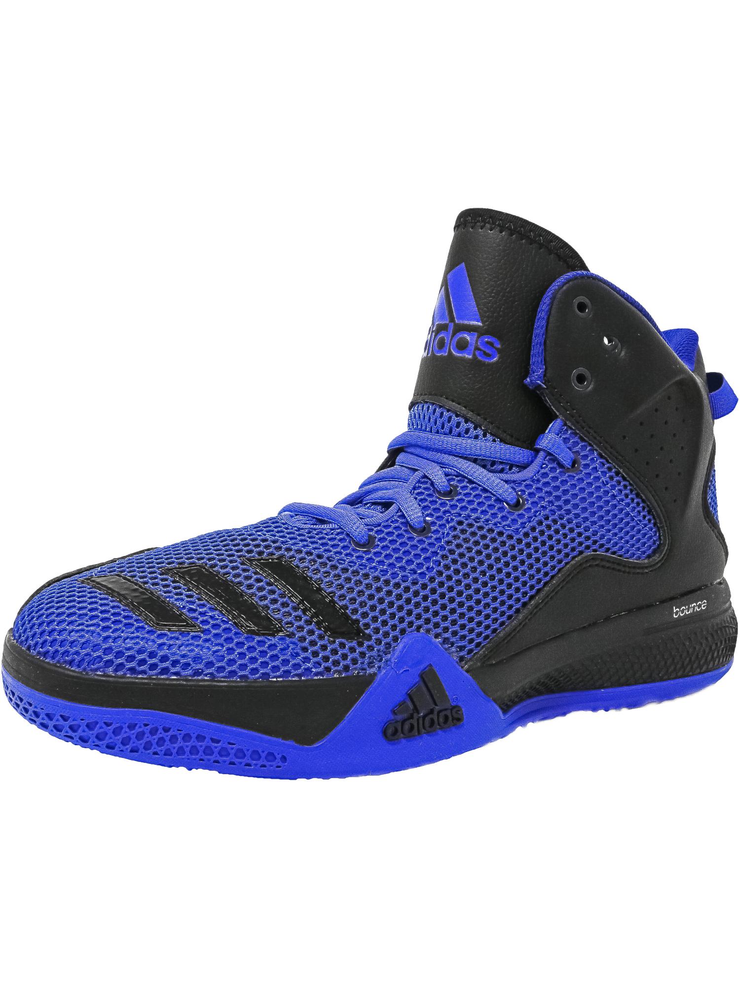 adidas dt bballname metà uomini di larghezza media, atletico, scarpe da basket