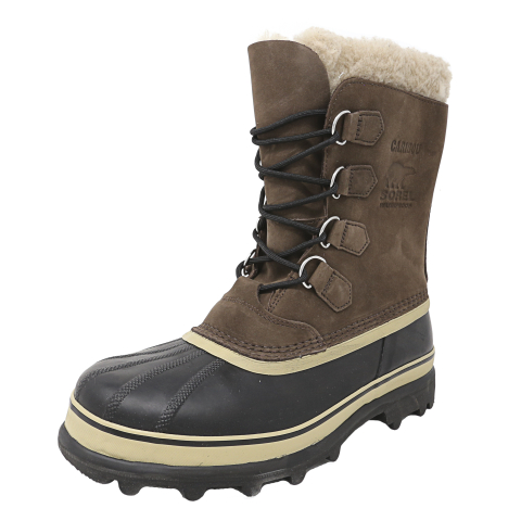 Sorel Men's Caribou Ankle-High Leather Snow Boot