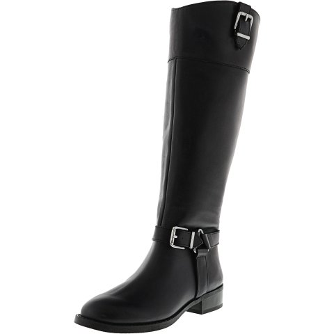 Inc Women's Fedee Wide Calf Knee-High Leather Equestrian