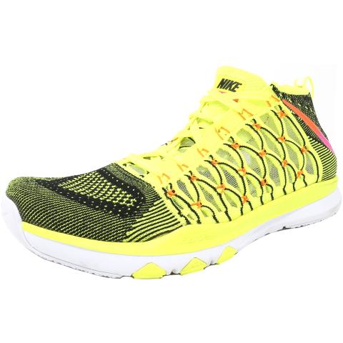Nike Men's Train Ultrafast Flyknit Ankle-High Fabric Running