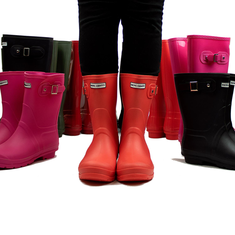Exotic-Identity-Original-Short-Rain-Boots-Waterproof-Premium-PVC-Nonslip-S thumbnail 14