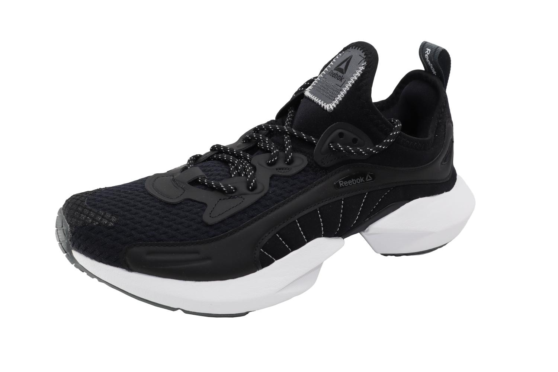 Reebok Women's Sole Fury Black / White Alloy Ankle-High Running - 7.5M