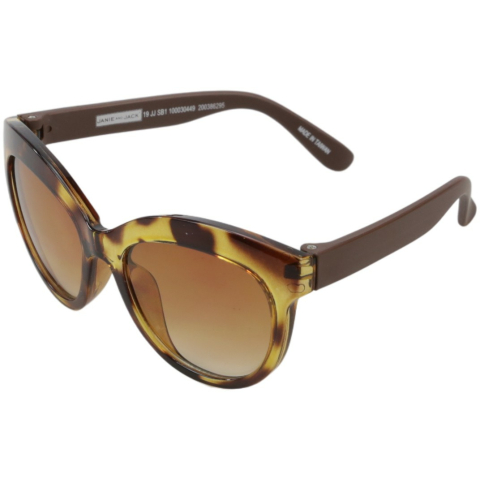Janie And Jack Tortoise Cat-Eye Sunglasses 200386295 Brown Butterfly