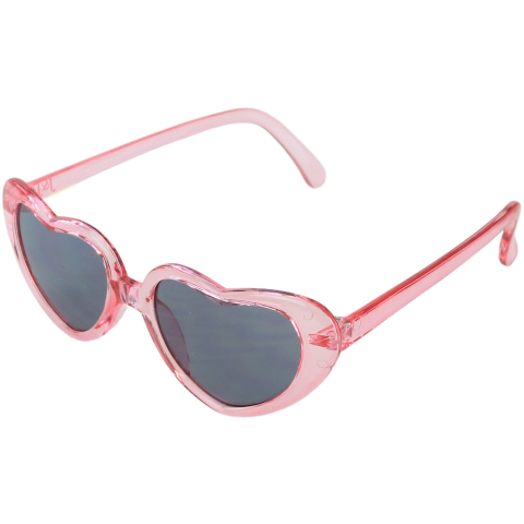 Janie And Jack Heart Sunglasses 2 to 4 Years 200410428 Pink Geometric