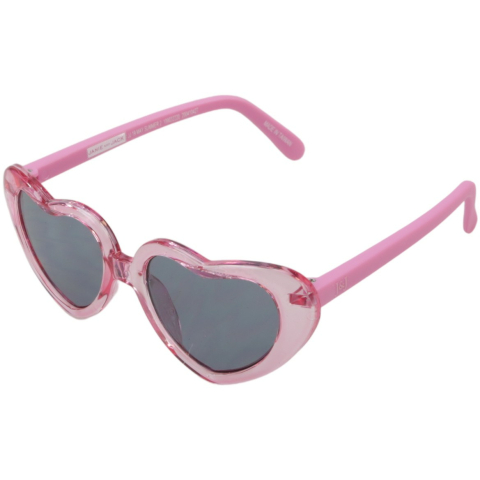 Janie And Jack Heart Sunglasses 0 to 2 Years 200410427 Pink Geometric