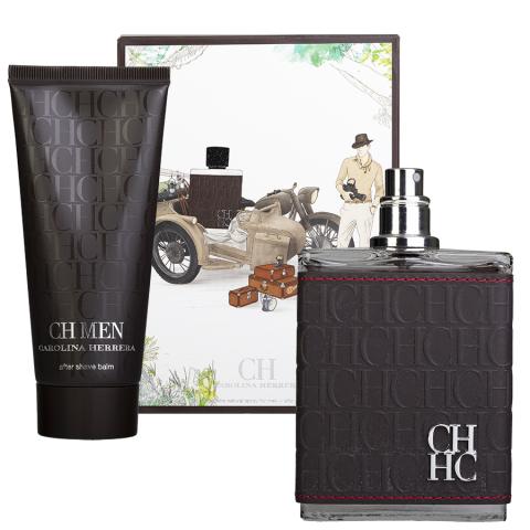 Carolina Herrera CH Men Eau de Toilette and After Shave Lotion Gift Set