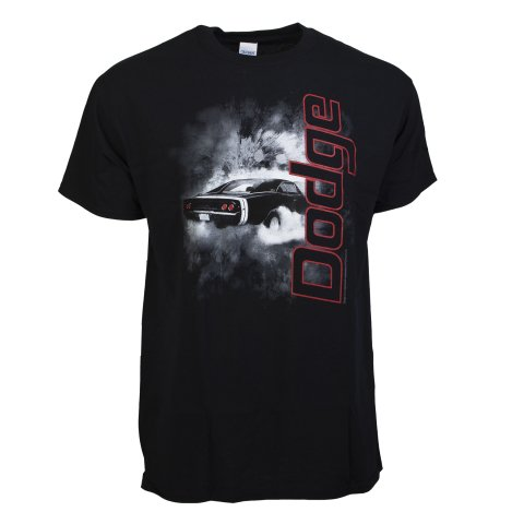 David Carey Smoking Dodge Charger Officially Licensed T-Shirt