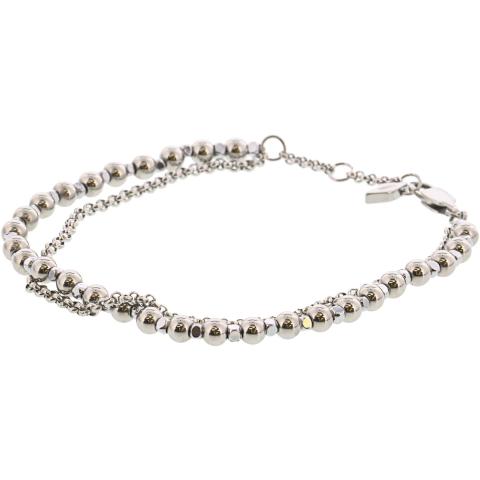 Fossil Women's Multi-Beaded Bracelet Link