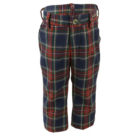 Janie And Jack Boy's Tartan Wool Pant Pants