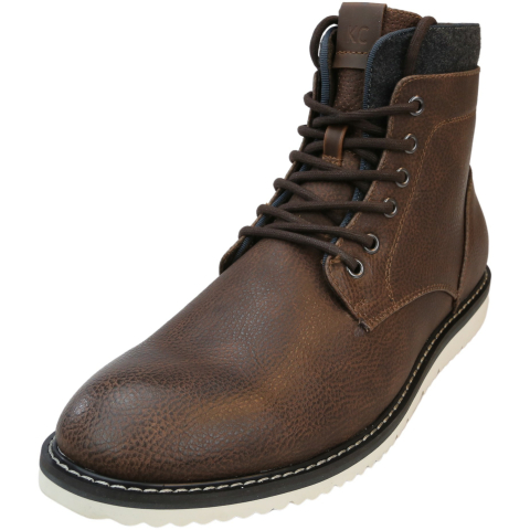 Kenneth Cole Men's Russel 2.0 High-Top Leather Boot